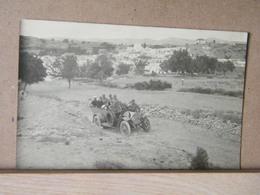 MONDOSORPRESA, FOTOGRAFICA, RODI, VILLAGGIO DI KALITEA 1926 DI RITORNO DALLA GITA COL GOVERNATORE FRANCESE, N.V. 1916 - Grèce