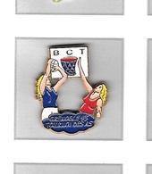 Pin's  Ville, Sport  Basket - Ball  B.C.T  GRENOBLE  93  TOURNOI  DES  AS  ( 38 ) - Basketball