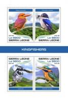 Sierra Leone 2018 Kingfishers - Sierra Leone (1961-...)