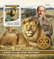 Sierra Leone 2018  Lions And Rotary - Sierra Leone (1961-...)