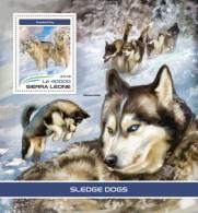 Sierra Leone 2018 S201805 Sledge Dogs - Sierra Leone (1961-...)