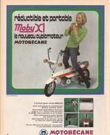 Motobécane (cyclomoteur) (réf. 94pub) - Publicités