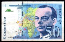 France Billet De 50 Francs 1997 L044 - 1992-2000 Last Series