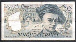 France Billet De 50 Francs 1980 O19 - 50 F 1976-1992 ''Quentin De La Tour''