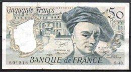 France Billet De 50 Francs 1985 S43 - 50 F 1976-1992 ''Quentin De La Tour''