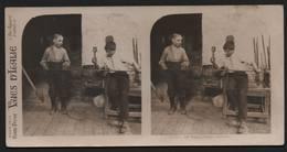 Jeunes Verriers Venise Venezia  - Région Du Vénétie Italie -  Photos Stéréoscopiques PARIS STEREO - Stereoscopic