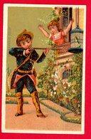 Paris, Au Bonheur Des Dames, Chromo Lith. Dupuy, Enfants, Fusil - Trade Cards