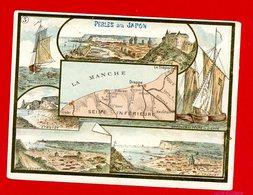 Perles Du Japon, Chromo Département La Manche - Trade Cards