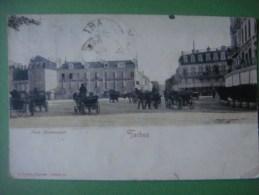 TARBES Place Maubourguet (colorée ) - Tarbes