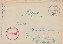 German Feldpost WW2: From The Galicia Area - Kommando 78. Sturm-Division U. Feldgendarmerie-Trupp 178 FP 24282 P/m 24.8. - 2. Weltkrieg