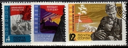 UdSSR  Mi.Nr. 3120-3122 Gestempelt (4183) - 1923-1991 UdSSR