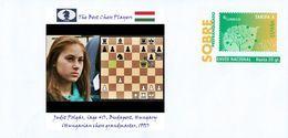 SPAIN, The Best Chess Players, Judit Polgár, (age 41), Budapest, Hungary (Hungarian Chess Grandmaster, 1991) - Chess