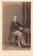 PHOTO CDV 19 EME COMTE OLIVIER  De BOUZEY Ou BOUZY MODE NAPOLEON III   Cabinet KEN  A  PARIS - Photographs