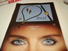 PUBLICITE AFFICHE MONTRE ET JOAILLIERS J.BERNARD 1980 - Jewels & Clocks