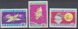 Mongolia 1966 Luna 6 3v ** Mnh (39187) - Asia