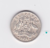 6 Pence 1925 Australie TB à TTB - Sterling Coinage (1910-1965)