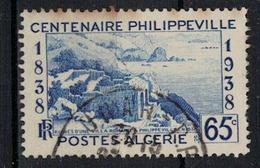 ALGERIE        N°  YVERT     143     OBLITERE       ( O   3/27 ) - Algerien (1924-1962)