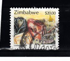 Zimbabwe 2000 Mi Nr 669 , Industrie , Leer - Zimbabwe (1980-...)