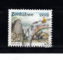Zimbabwe 2000 Mi Nr 671 , Victoria Watervallen -1 - Zimbabwe (1980-...)