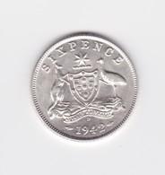 6 Pence 1942 D  Australie TTB à SUP - Sterling Coinage (1910-1965)
