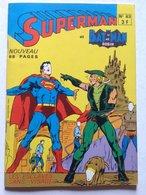 No PAYPAL !! SUPERMAN Batman & Robin 63 Superman Flêche Verte Superboy Légion BD Éo 1974 TTBE/NEUF Comics Vf SAGÉDITION - Superman