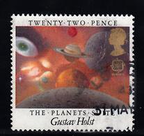 Groot-Brittannie 1985 Mi Nr 1028, Europa, Planeten - Gebruikt