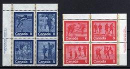 Canada 1976 - Jeux Olympiques De Montréal Olympic Games Stampsx4 MNH - Estate 1976: Montreal