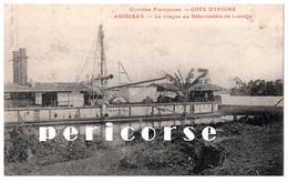 Abidjean  La Drague Au Débarcadére De Locodjo - Côte-d'Ivoire