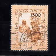 Vaticaan 1998 Mi Nr 1267. Reis Naar Parijs Van Paus Johannes Paul II - Gebruikt