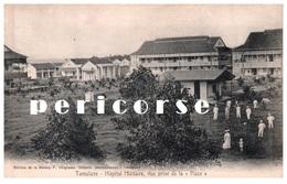 Madagascar  Tamatave  Hôpital Militaire  Vue Prise De La Place - Madagascar