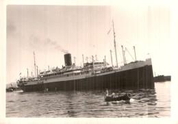 PHOTO DE 13 X 9 CMS  BATEAU POUR L'INDOCHINE - Boats
