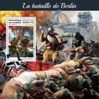 GUINEA REP. 2018 MNH** Battle Of Berlin Schlacht Um Berlin Bataille De Berlin S/S - IMPERFORATED - DH1823 - 2. Weltkrieg