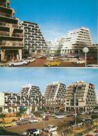 34 GRANDE MOTTE LE PORT ANIMATION PLACE  DES COSMONAUTES 2CV ET DS CITROEN LOT 2 CARTES - Marseillan