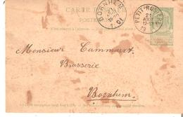 EP. 5c. Oblit. PETIT-ROSIERE Du 21/8/1901 V/BRASSERIE à BORNHEM C.arr. - Other
