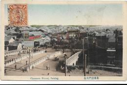 CHENMEN STREET, PEKING / ANIMATION / DOS SCANNE - Chine