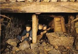 30-ALES- MINE- TEMOIN D'ALES- TAILLE 1880, PIC ET PANIER DE TRAINAGE - Alès