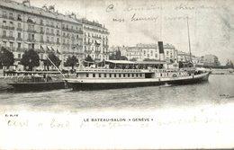 LE BATEAU SALON GENEVE - GE Genève