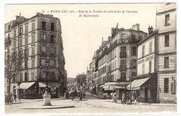 PARIS XIVème - Rue De La Tombe-Issoire Prise De L' Avenue De Montsouris - Ed. L. Jallet, Paris - Arrondissement: 14
