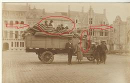 Ieper Zeldzame Fotokaart 1914-18 - Ieper