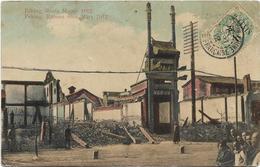 PEKING, RIOTS MARCH 1912 / PEKING, RUINEN VOM MARS 1912 / ANIMATION / TAMPON TSIENTSIN / DOS SCANNE - Chine