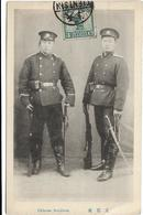 CHINESE SOLDIERS / MILITAIRES / TAMPON TSIENTSIN / DOS SCANNE - Chine