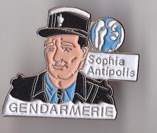 PIN'S   THEME POLICE  GENDARMERIE  SOPHIA  ANTIPOLIS - Police