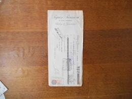 CLICHY LA GARENNE SEINE PAPIER PARISIEN 31 RUE VASSOU TRAITE DU 5 DECEMBRE 1932 - France