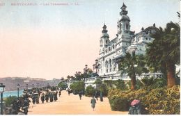 Monaco - CPA - Monte-carlo - Les Terrasses - Terrassen