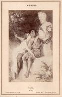 """86Va Photo Cartonné (16.5cm X 11cm) Munier """"Idylle"""" - Pittura & Quadri"""
