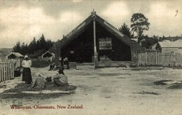 WHAREPUNI, OHINEMUTU  NEW ZEALAND POST CARD - Nueva Zelanda