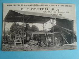 16 - Cognac - Charpentes Et Hangars Métalliques - Elie Douteau Fils - Cognac