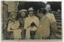 - Photo De Film - Original - Héléne PARTOLLO, Colette RIPERT, J. Gabriel DOMERGUE, Arléne DAHL, 03-04-1954, TBE, Scans. - Famous People
