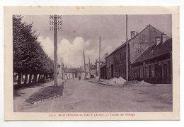 02  HARTENNES-et-TAUX  -  Entrée Du Village - France