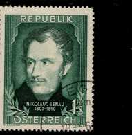 Österreich 975 Nikolaus Lenau Used Gestempelt - 1945-.... 2. Republik